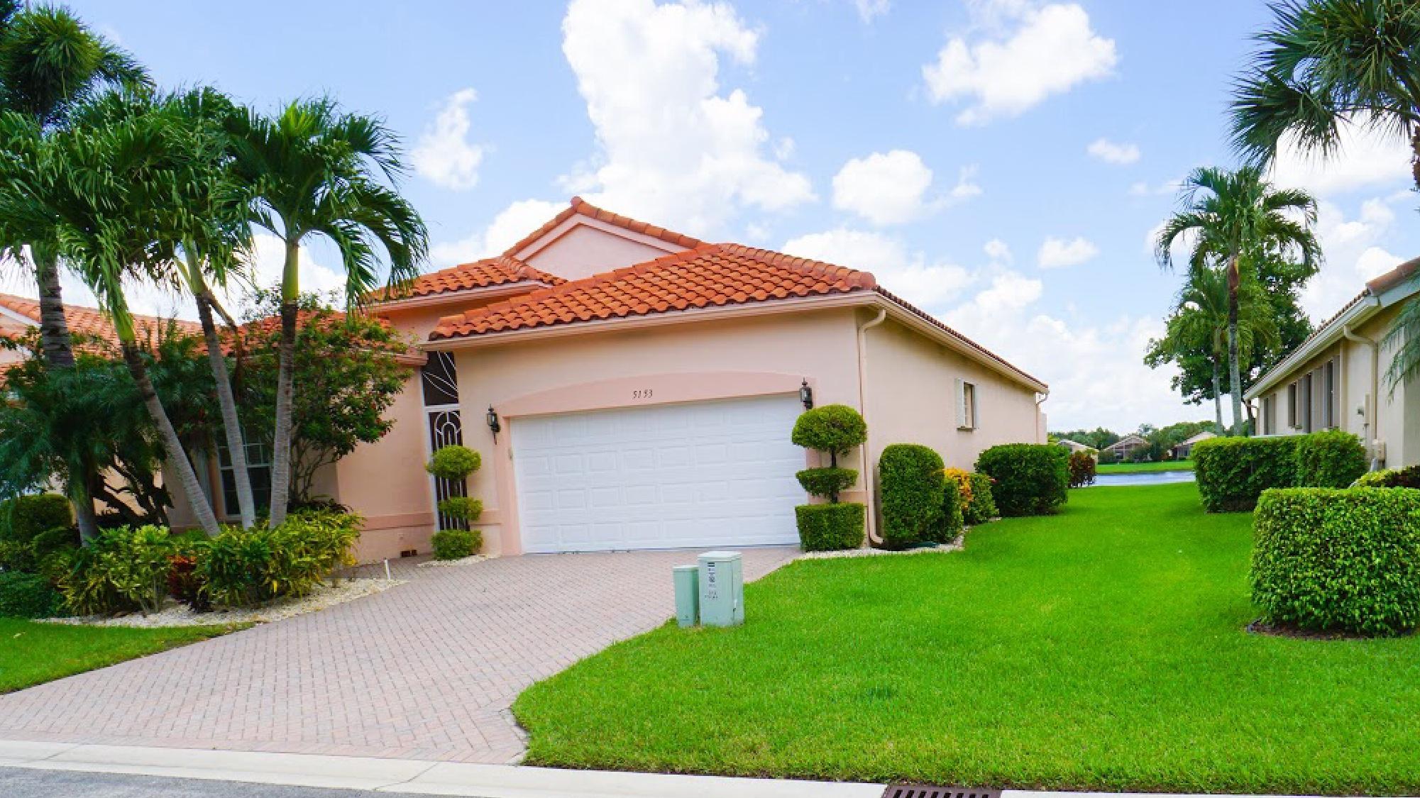 5153 Polly Park Lane  Boynton Beach FL 33437