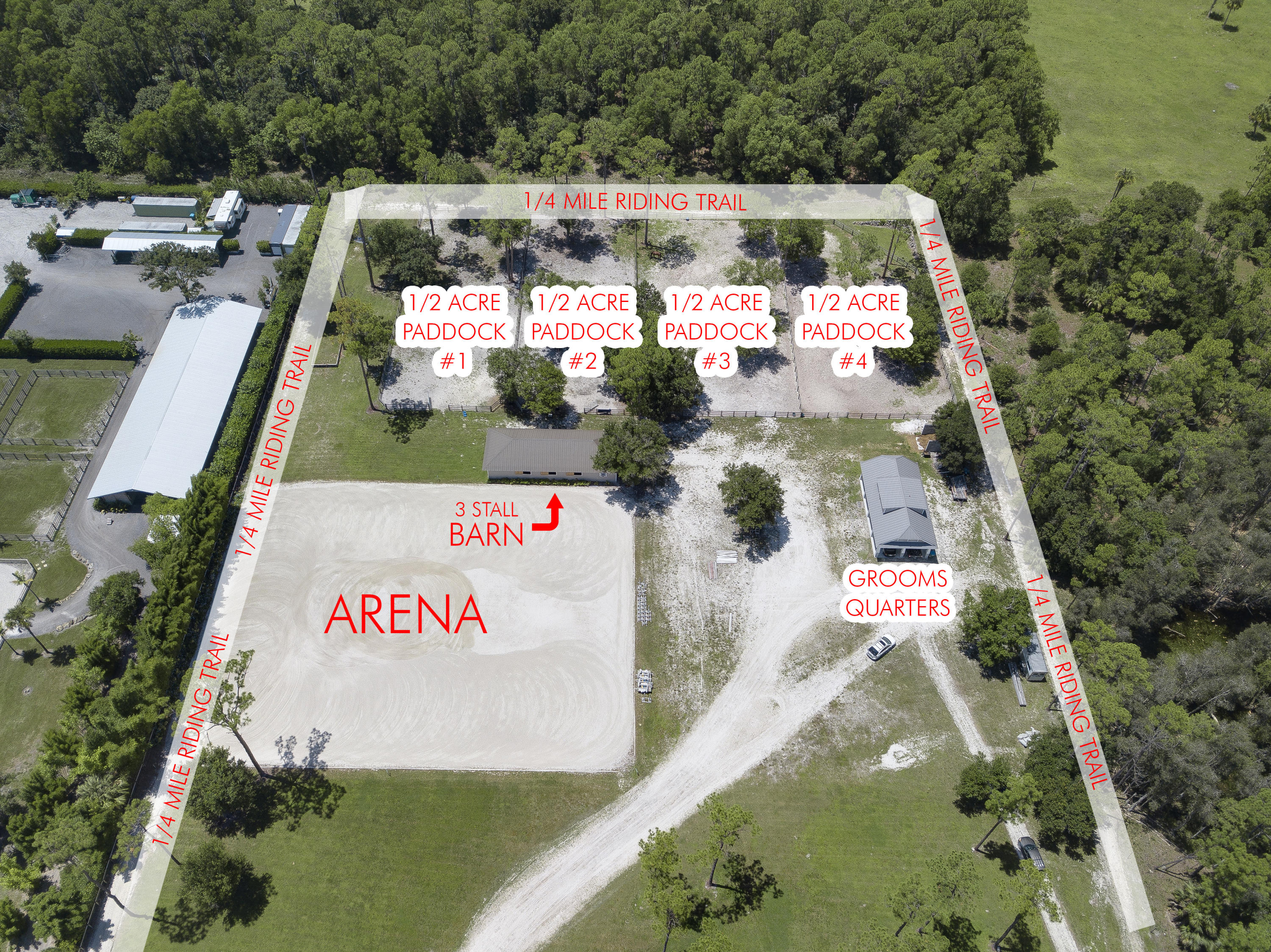 14120 6th Court, Loxahatchee Groves, Florida 33470, ,Barn,For Sale,Equestrian Escape,6th,RX-10548180
