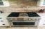 GE MONOGRAM Natural Gas cooktop , griddle and large 3rd oven