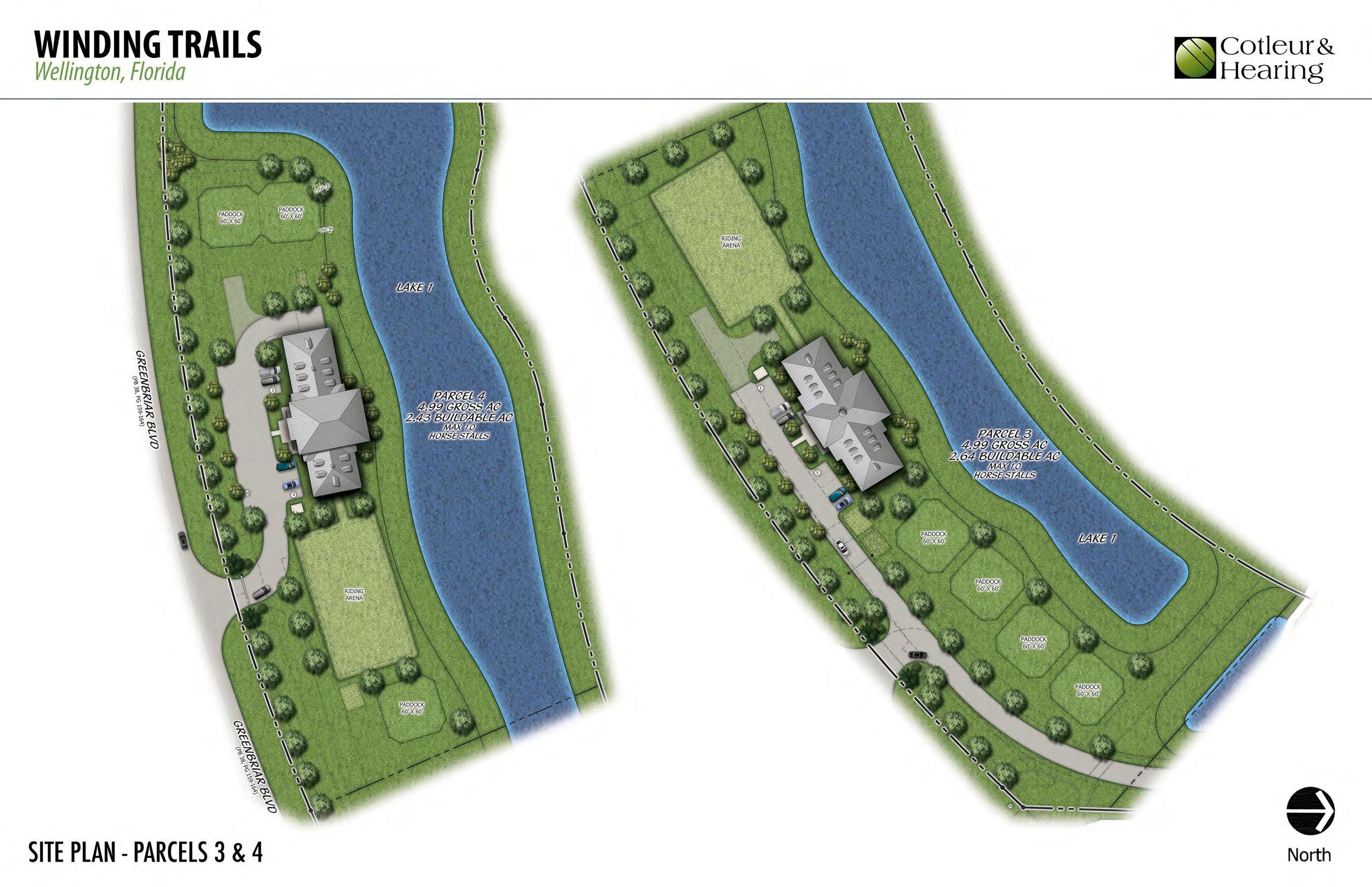 2986 Greenbriar Boulevard, Wellington, Florida 33414, ,Land,For Sale,Winding Trails,Greenbriar,RX-10559839