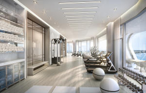 Fitness Center at The Bristol