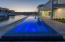 Spa with Changeable Colored Lights