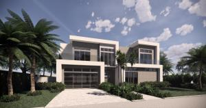 Modern, symmetrical designed style home. Built with top grade materials and really is an eye catcher.
