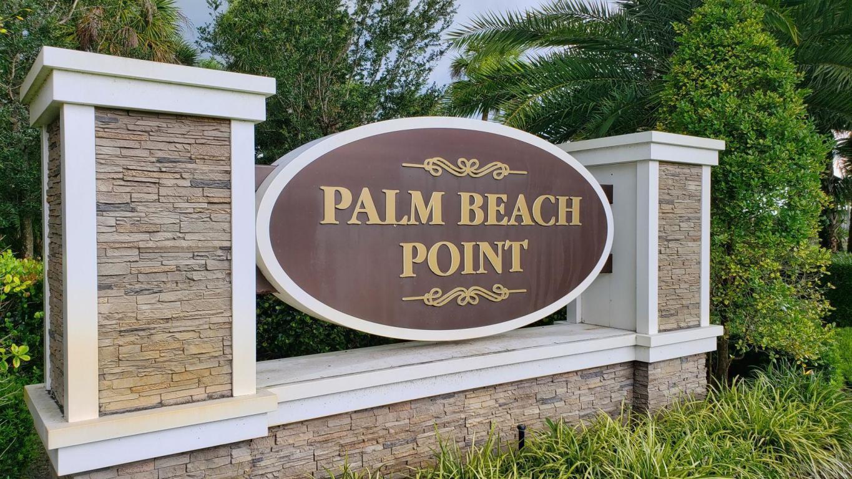 15500 46th Palm Beach Point entrance