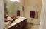 Bathroom off of 2nd BR is just immaculate!