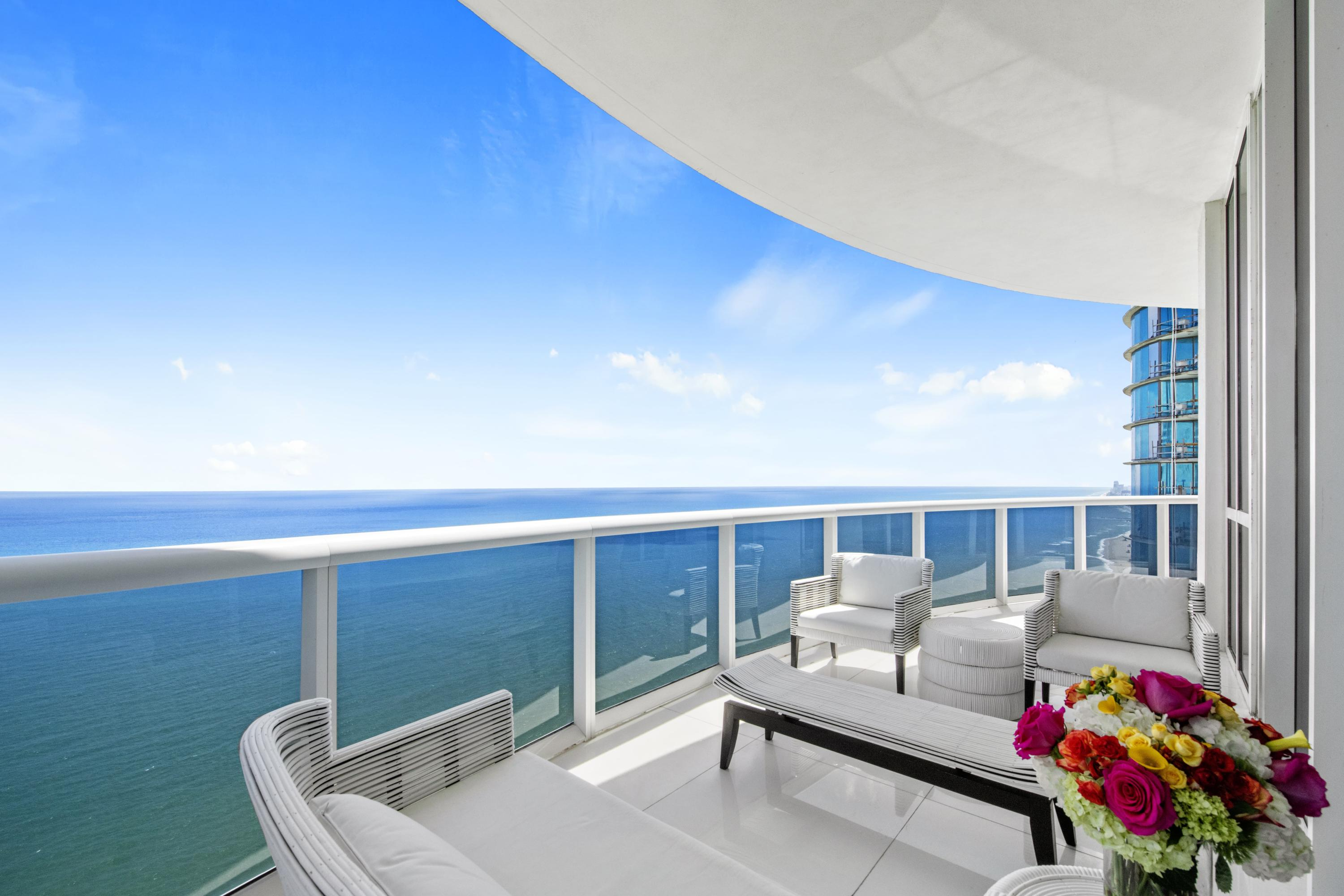 Private Oceanfront Terrace