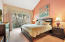 Serene and spacious master bedroom