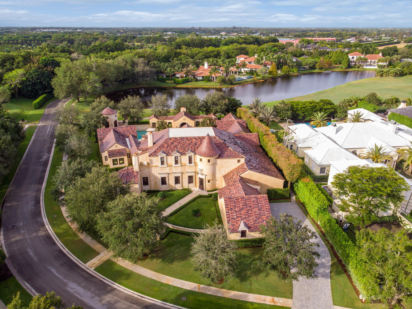 2930 Hurlingham Drive, Wellington, Florida 33414, 6 Bedrooms Bedrooms, ,6.1 BathroomsBathrooms,Single Family,For Sale,PALM BEACH POLO,Hurlingham,RX-10568488