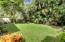 Back yard w mature trees