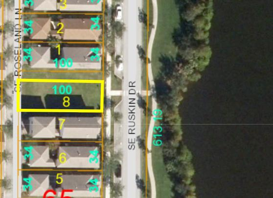 Come build your brand new home & guest home (permitted) on this lake view property in East Lake Village! All ages community of treelined streets, community pool, just east of US1 where all the shopping, dining & entertainment is located. Close to the New Crosstown Parkway so you can access I95 quickly & still live near the beach! The lot doesnt have a sign, after you build, your front view faces east overlooking the lake. Aslo permitted is a detached garage with guest apartment!  Pets allowed.