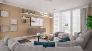 Virtual Staging True to Scale