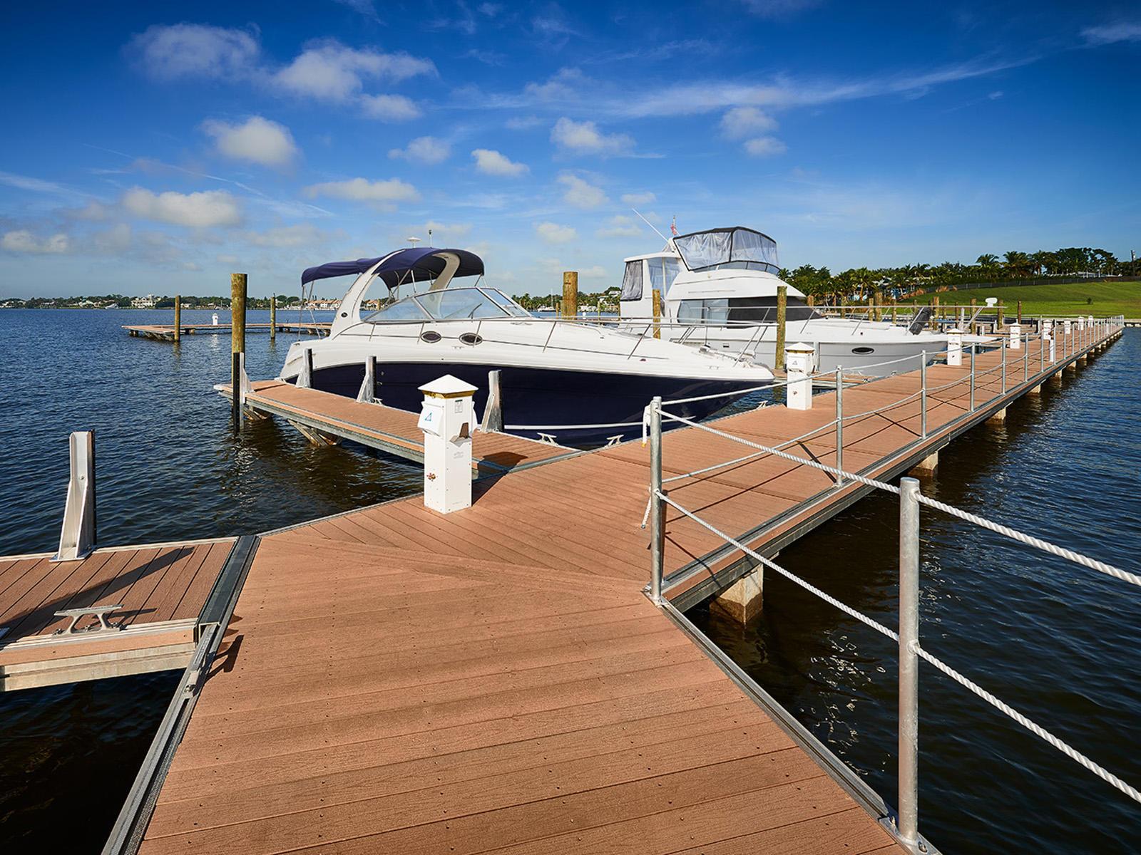 private dock/marina