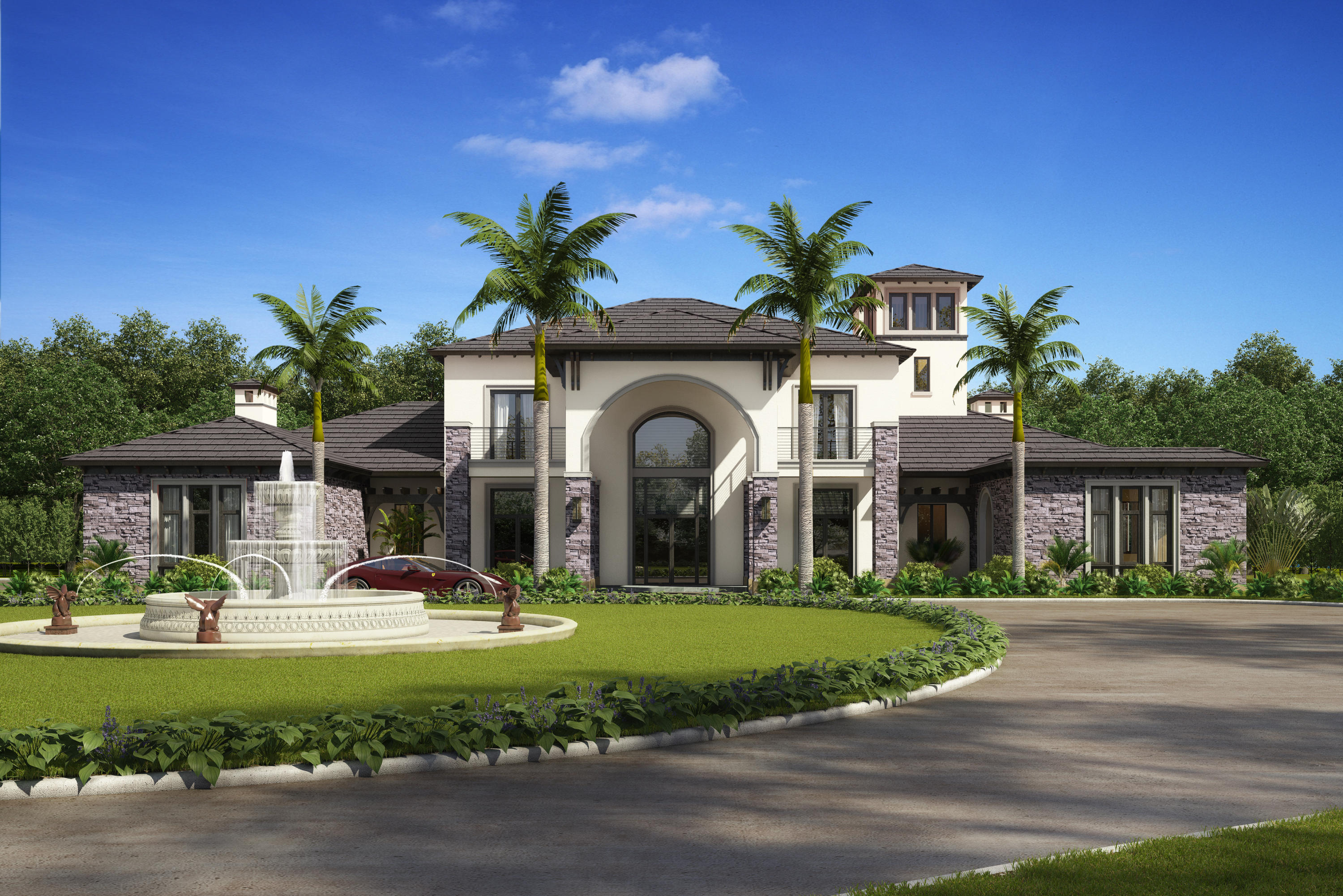 Wellington, Florida 33414, 6 Bedrooms Bedrooms, ,6 BathroomsBathrooms,Residential,For Sale,Santa Barbara,RX-10574552