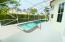 Freshly Refinished Pool Deck!