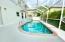 freshly refinished pool deck