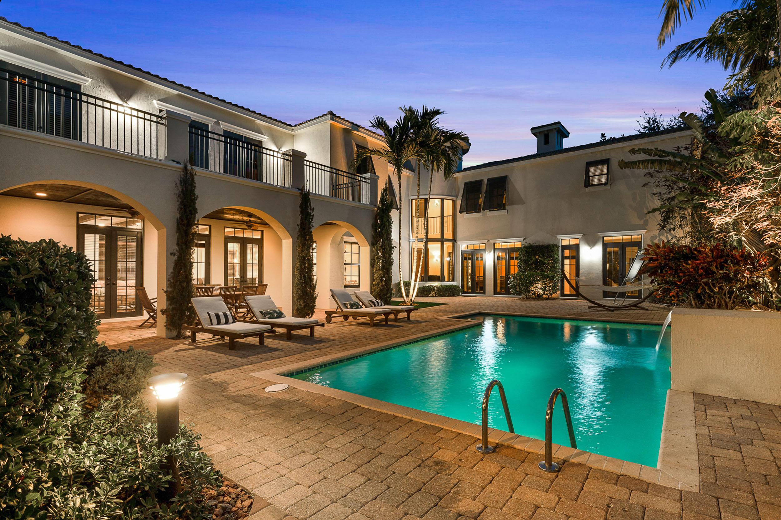 Private, spacious backyard