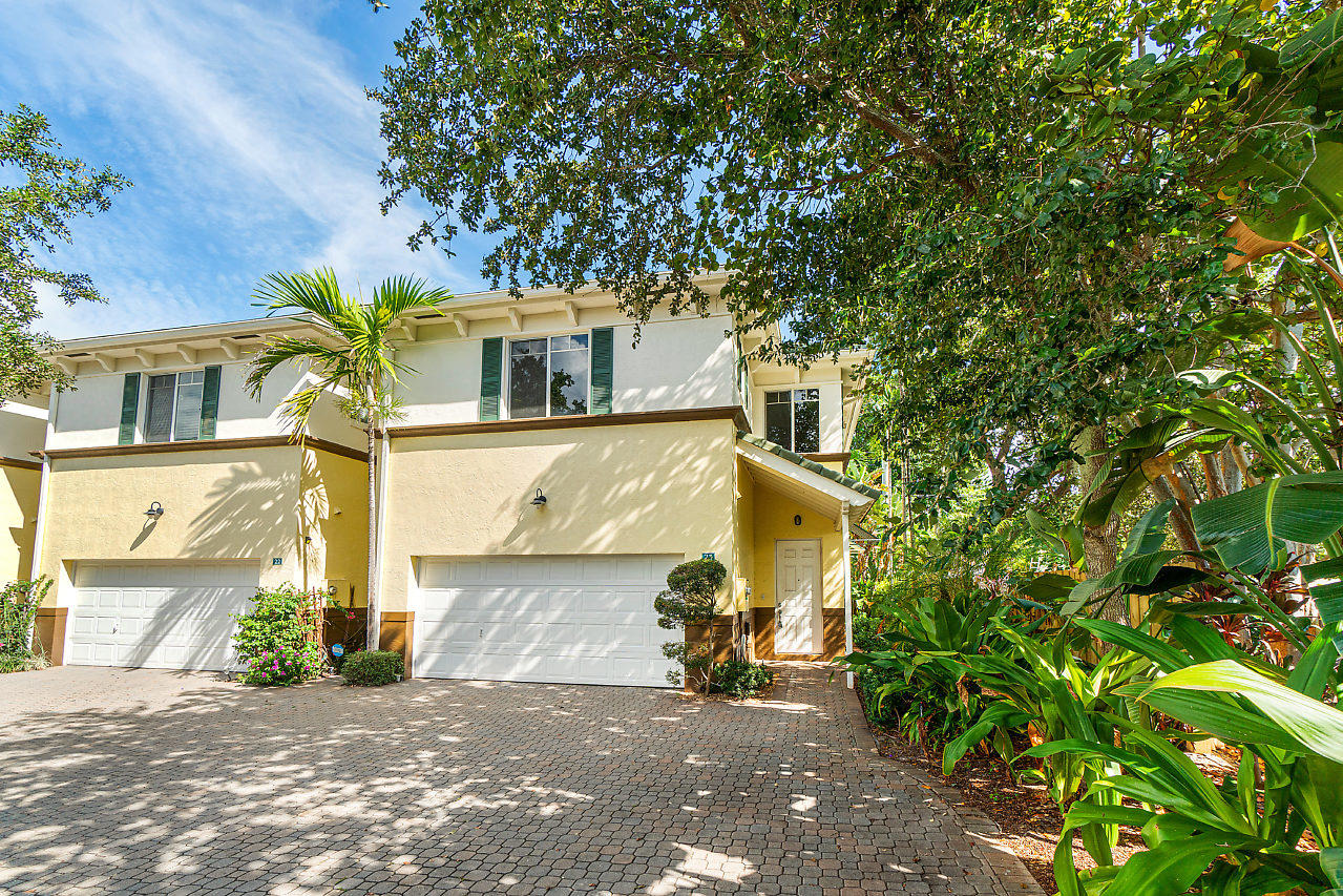 Own in the very best townhome community in Lake Worth! A pleasant walk from both the beach and downtown, it boasts the lowest townhome HOA fees in town, and with a community pool! This Parrot Cove development was built to last - all impact windows & doors and solid concrete construction. 2 car garage. Open kitchen with granite.  Walk-in custom closets in the master. The back row location of this unit gives you a private outdoor space to enjoy the fresh air, grill, entertain, or grow a container garden. The interior of this unit has been impeccably maintained.  Schedule an appointment to see for yourself today!