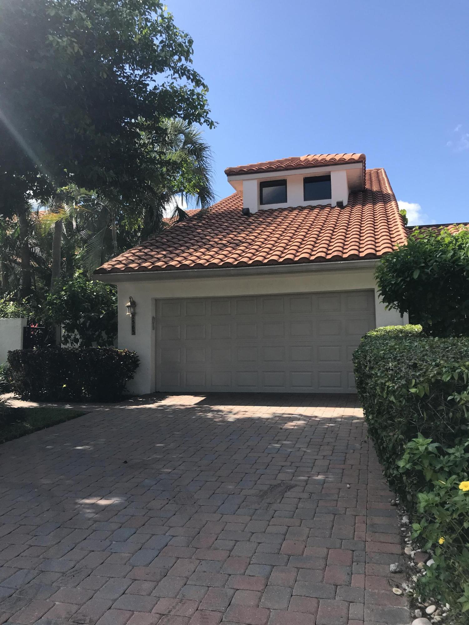 Well maintained, 3 bedroom 4 and a half baths, 2 car garage, pool townhome.  Spacious first floor master with his and her bathrooms. Guest bedrooms on second floor with separate bathrooms and a 8 x 12 den/ bonus room with closet that could be 4th bedroom for guest or child. 25 x 15 pool with large patio and lush landscaping for lots of privacy. Home is on a cul-de-sac, priced for any update''s that buyer may require. Property is located in a guard gated communnity,  Palm Beach Polo a Golf and country club community , membership to club and golf not mandatory. Close to all Wellington equestrian venues. Easy to show.