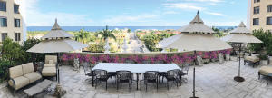 Biggest Terrace on Palm Beach Island