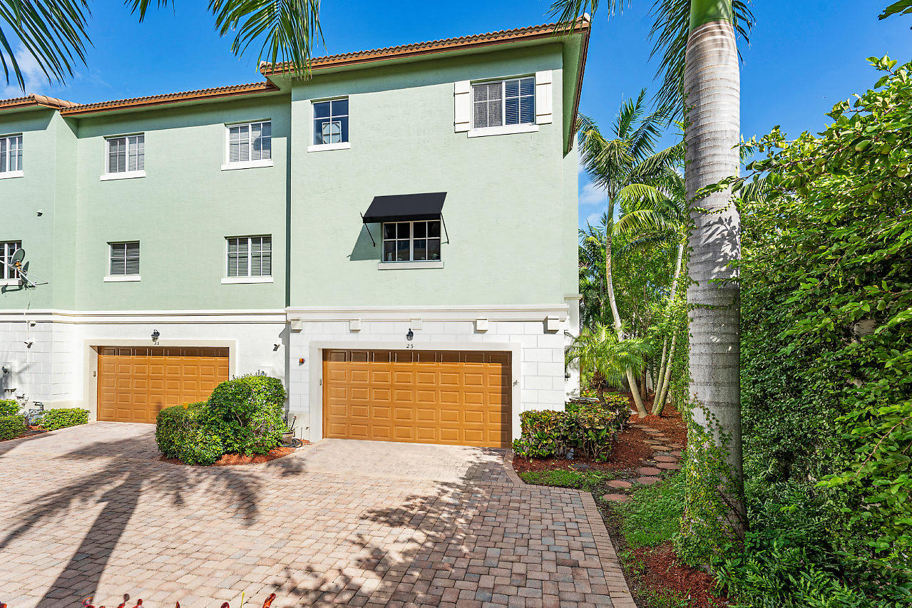 If You're Looking to Live in East Boca Without Having to Spend Over a Half a Million then Look No More! This Tri-Level Townhome with Immediate Proximity to Boca's Spectacular Beaches, Mizner & All of it's Fine Shopping and Dining Destinations, as well as FAU & All the Best that Boca Has to Offer is Just What You're Looking For. Located in the Recently Built Library Commons this Former Builders Model Townhome is Loaded with Luxury Appointments Being Recently Enhanced by the Current Owner. Home Features Include a Chef's Kitchen w/ Wood Cabinetry, Granite Countertops, GE Profile Stainless Steel Appliances Including Gas Range. The Generous Master Suite Offers Dual Closets, Dual Sinks, Separated Shower & Roman Tub. Guest Bathrooms have Been Updated with New Flooring & Vanities. In Unit Elevator Impact Windows Throughout. With Townhome Being an End Unit it Offers a Private Entrance & Expanded Garden/Patio Deck that Was Recently Further Expanded by Owner. Low Monthly HOA Fees Include Exterior Maintenance, Reserves for Painting/Pressure Washing, Yard/Gardening Service, & Cable.