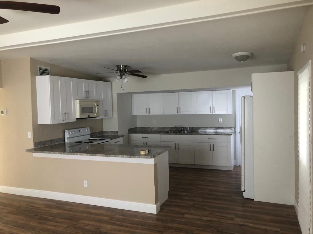 COMPLETELY REMODELED 3/2, NEW CUSTOM WOOD KITCHEN, NEW FLOOR PLAN, REMODELED BATHROOMS, NEW AC, NEW ELECTRIC PANEL, NEW HEATER, NEW STUCCO, FRESHLY PAINTED, NEW FIXTURES, HURRY WONT LAST!