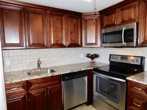 ...with granite counters.