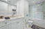 Ensuite with tub and shower