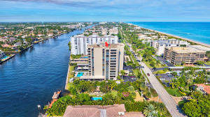 Amazing Intracoastal Views and Ocean Peeks from this 6th floor unit.