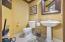 1/2 Bath Powder Room