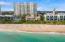 Private Ocean Beach Club across the street
