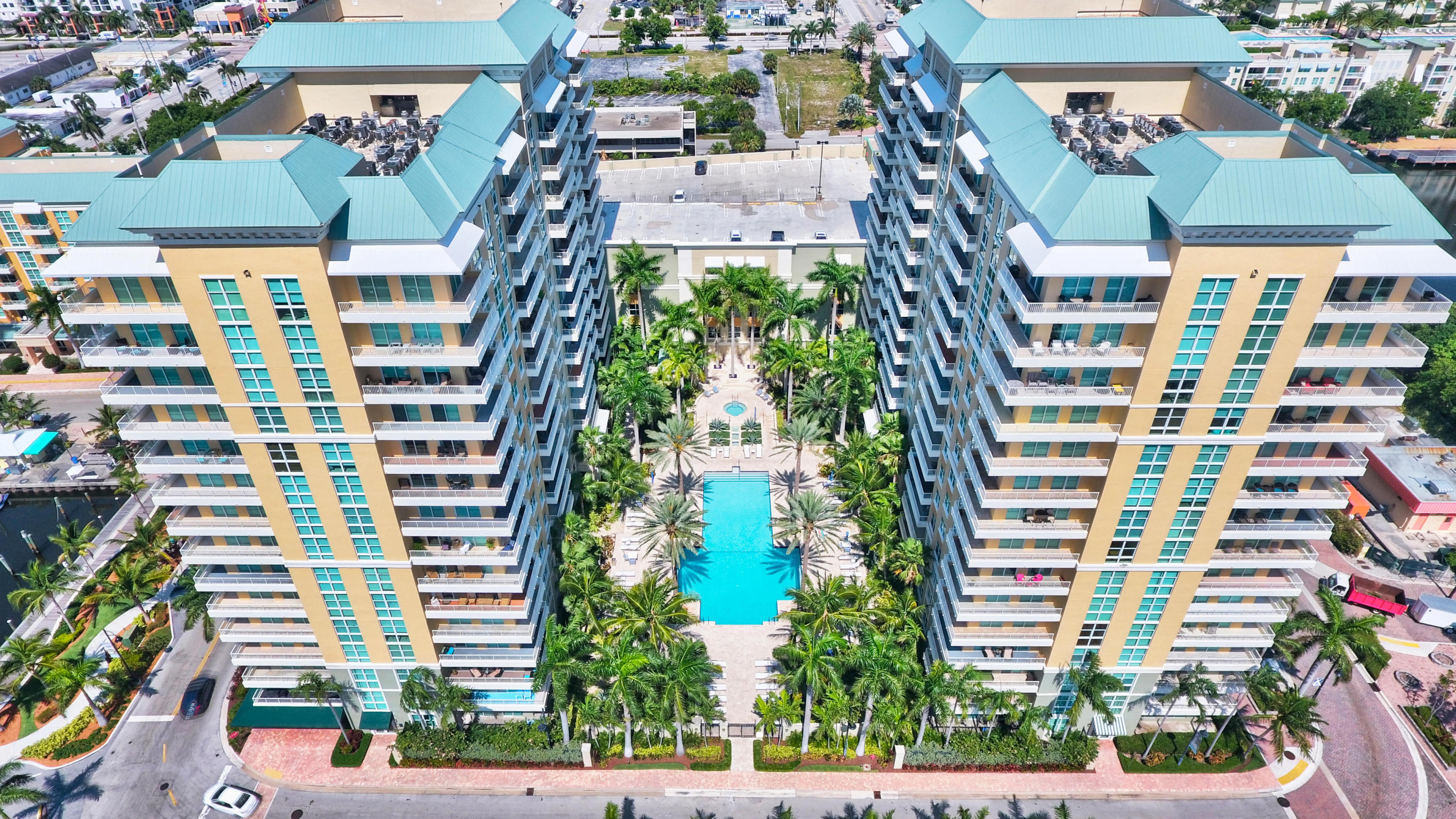 Perfectly maintained one bedroom condo in the Heart of the surrounding Boynton redevelopment. Marble floors throughout. Pool, Intracoastal, Ocean and Marina views. Walk to the Beach. Walk to the Restaurants. Quickly jump on 95 to the airport. About 5 miles to Atlantic Avenue. Monthly fee includes, 24 hour lobby/security doorperson, Resort Style Pool, Fitness Center, Club Room, Movie Theater Room, Digital Cable, WIFI , Water & other amenities. Garage parking space is secured with gated entry. Management staff on site. Rents seasonally at $3100. Short term lease of 30 days allowed. Two dogs allowed up to 35lbs. New AC 2017 - New Water Heater 2019