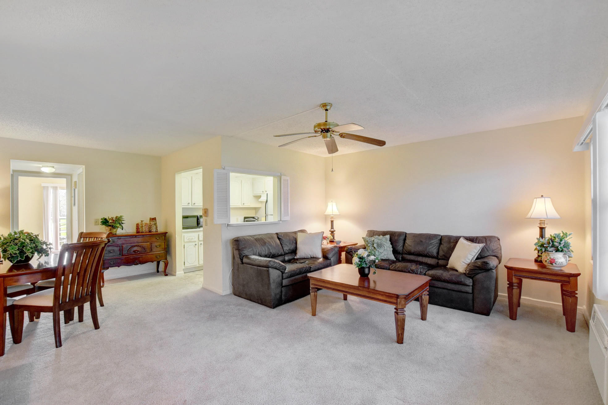 The place to be in Boca Raton is Century Village! Enjoy all that this amazing community has to offer in your very own one bedroom gorgeously furnished condo! Garden view.
