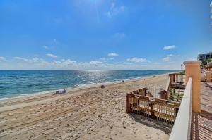 Private Beach Access from Condo Pool Area