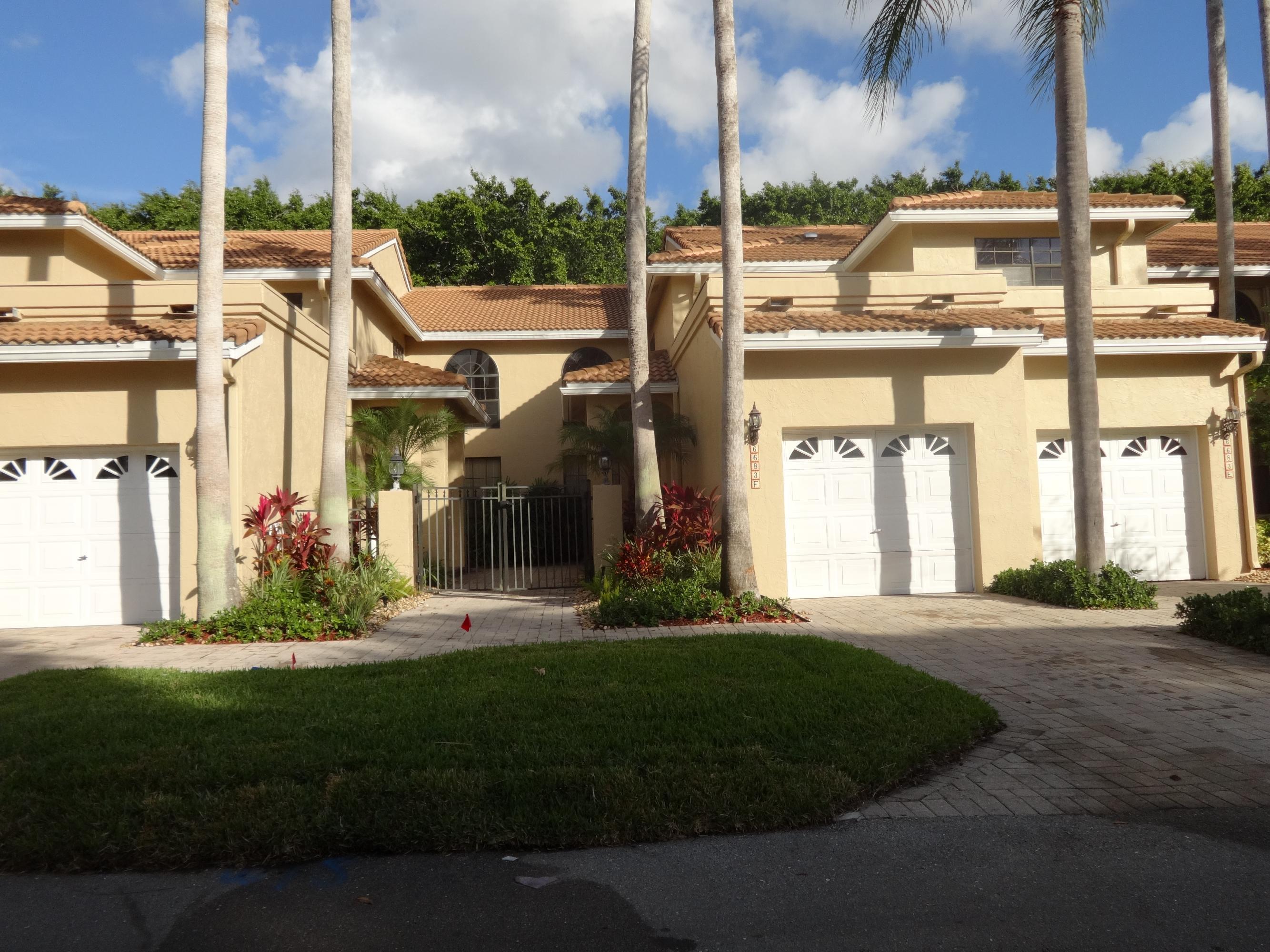 6683 Montego Bay Boulevard #f Boca Raton, FL 33433