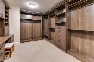 1 of 2 Master Closets