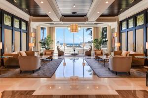 The Ritz lobby