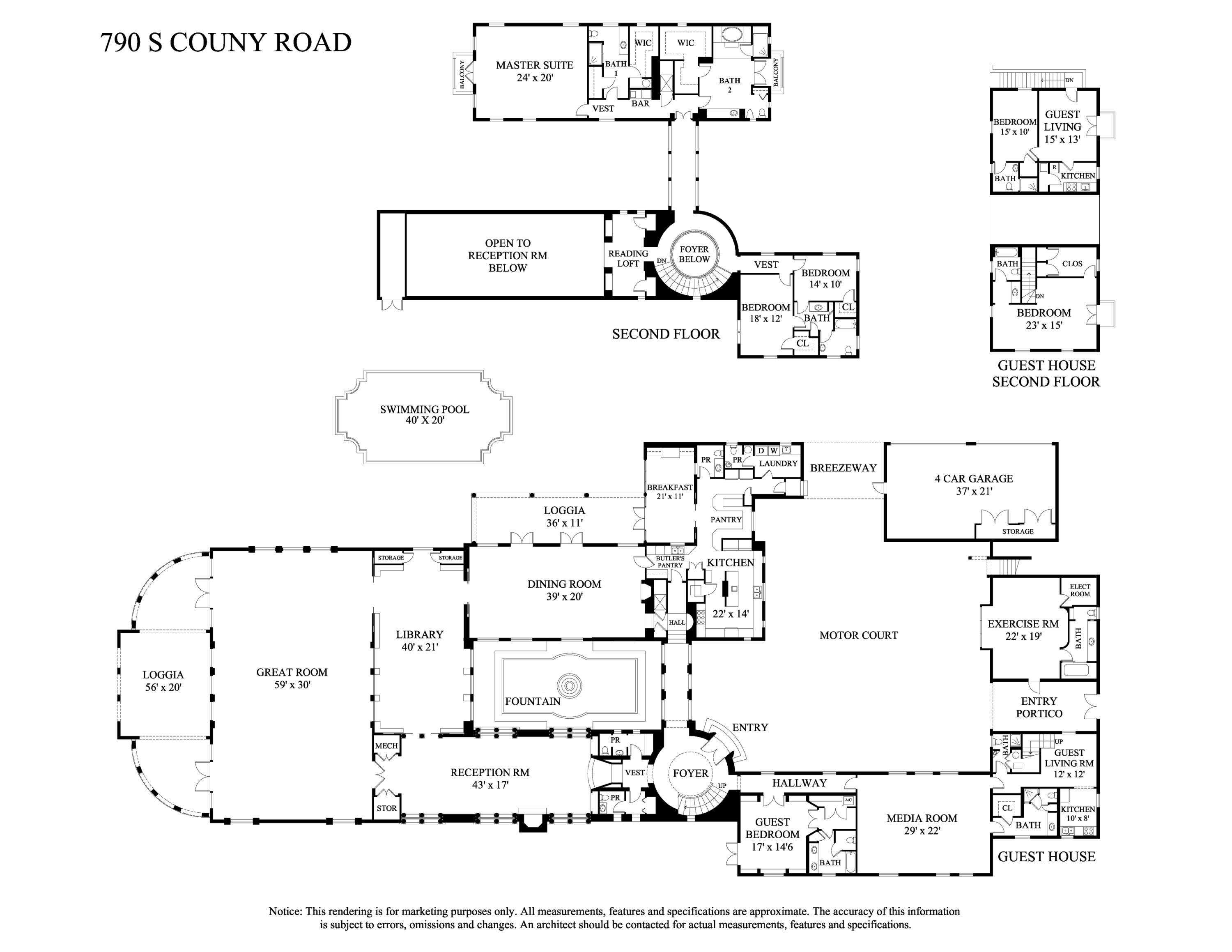 790 County Road, Palm Beach, Florida 33480, 7 Bedrooms Bedrooms, ,9 BathroomsBathrooms,Residential,for Sale,County,RX-10548444, , , ,for Sale