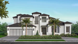 Restyled front elevation by designer, builder and realtor Julie Kogen. Does your home need updating?