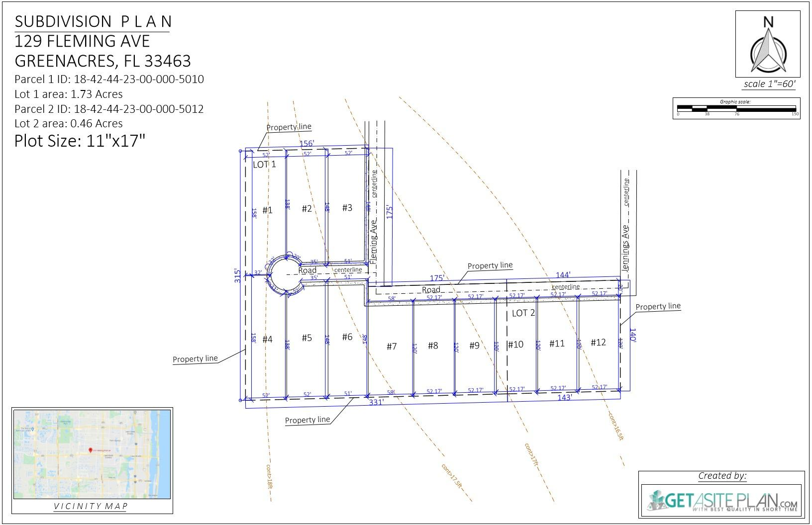 129 Fleming Avenue, Greenacres, Florida 33463, ,Land,For Sale,Fleming,RX-10616870