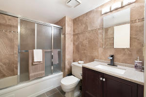 TRULY SPECTACULAR BEST DESCRIBES THIS RENOVATED FULL BATHROOM