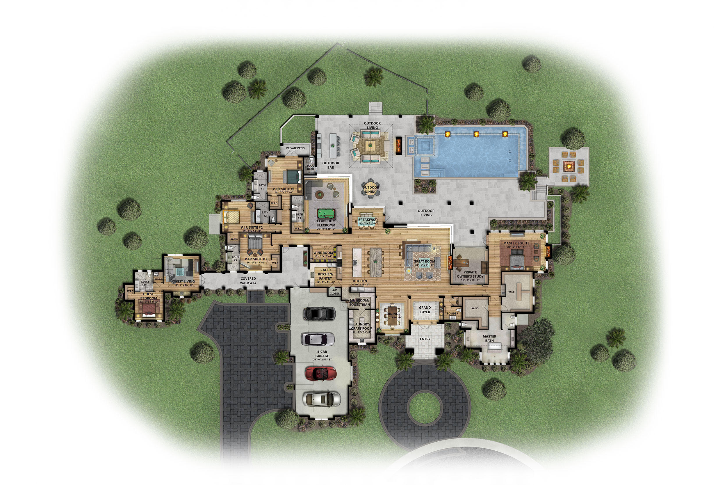 Wellington, Florida 33414, 5 Bedrooms Bedrooms, ,6 BathroomsBathrooms,Residential,For Sale,Cypress Island,RX-10618756