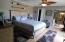 Better view of entire room...pocket door to left leads to full bath--mirrored door to huge walk in closet