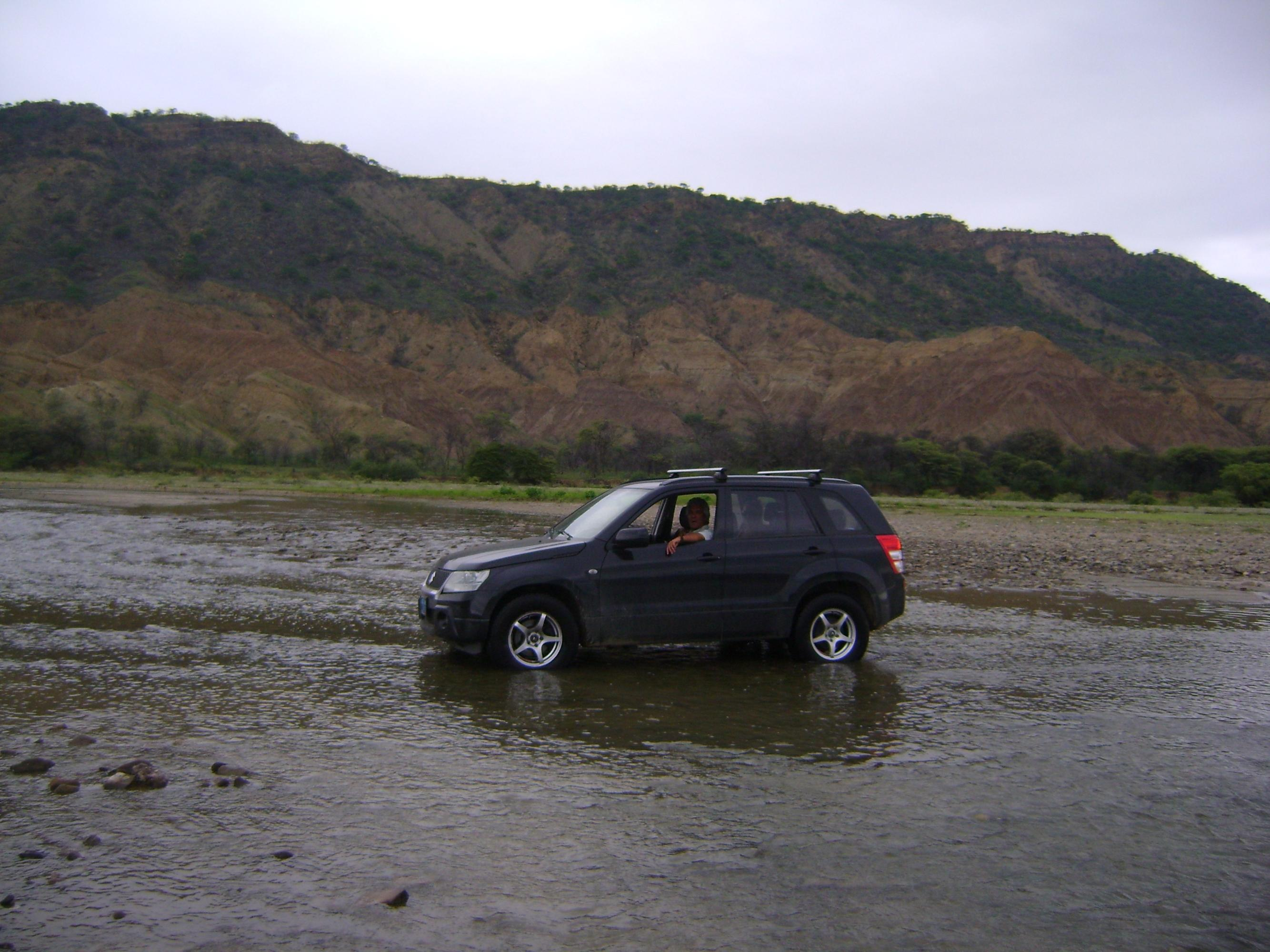 Enroute through the riverbed