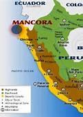 map of mancora