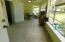 Enclosed porch--replacement windows, Terrazzo floors--