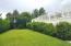 Back garden for croquet or badminton