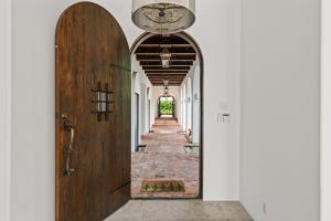 custom wood front door