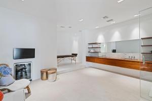 fully renovated spa