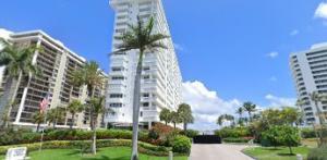 Cloister Beach Towers, 1200 South Ocean Boulevard, on the beach in Boca Raton.