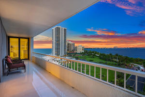 Incredible views of the ocean and intracoastal with sunsets lighting up the sky